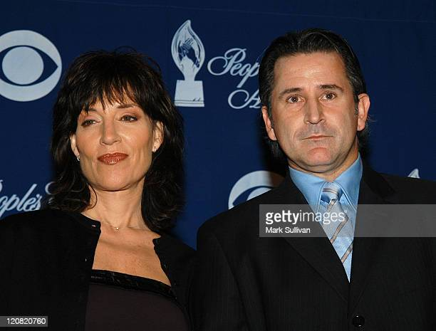 Katey Sagal and Anthony LaPaglia during The 30th Annual People's Choice Awards Nominations at Beverly Hilton Hotel in Beverly Hills California United...