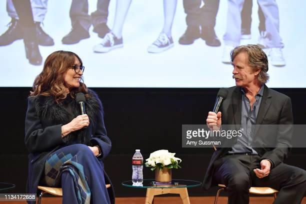 """Katey Sagal and William H. Macy attend For Your Consideration Event For Showtime's """"Shameless"""" at Linwood Dunn Theater on March 06, 2019 in Los..."""