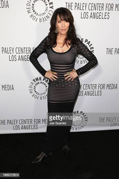 Katey Sagal arrives at The Paley Center For Media's 2013 benefit gala honoring FX networks at Fox Studio Lot on October 16, 2013 in Century City,...