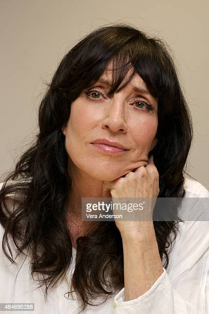 Katey Sagal at 'The Bastard Executioner' Press Conference at Dragon International Film Studios on August 19 2015 in Llanilid Wales