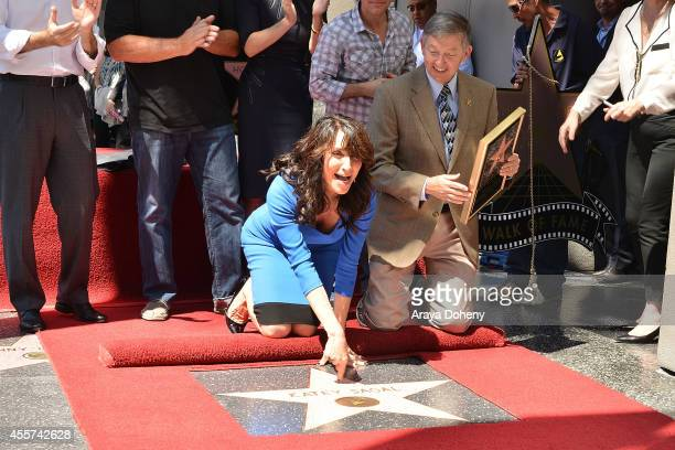 Katey Sagal attends the ceremony honoring her with a Star on The Hollywood Walk of Fame on September 9 2014 in Hollywood California