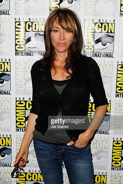"Katey Sagal attends the ""Sons of Anarchy"" press line at 2011 Comic-Con International - Day 4 at San Diego Convention Center on July 24, 2011 in San..."
