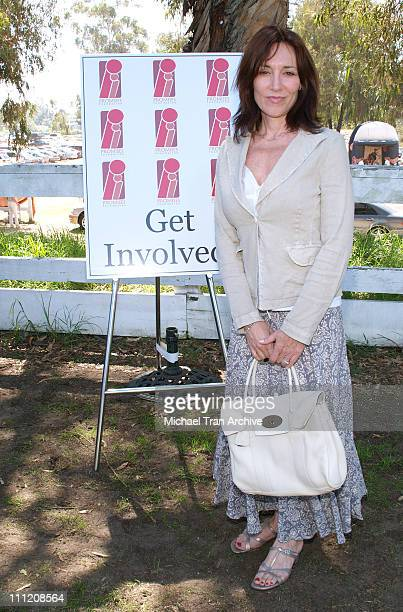 Katey Sagal during The Promises Foundation Hosts the First Annual Family Fun Festival and Polo Match at Will Rogers State Historic Park in Pacific...