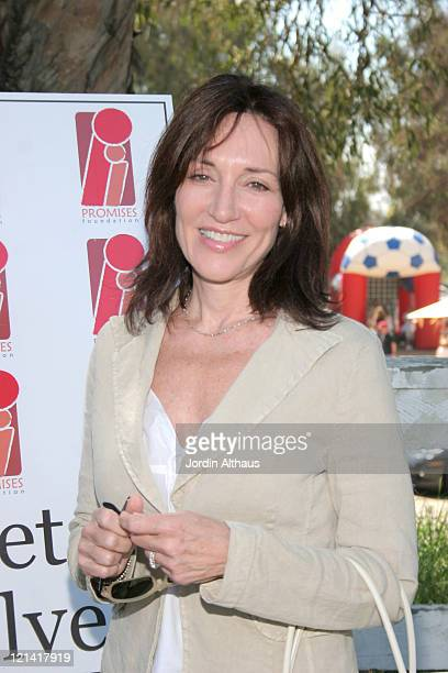 Katey Sagal during The Promises Foundation's Family Fun Festival and Polo Match Hosted by Katey Sagal at Will Rogers State Park in Pacific Palisades...