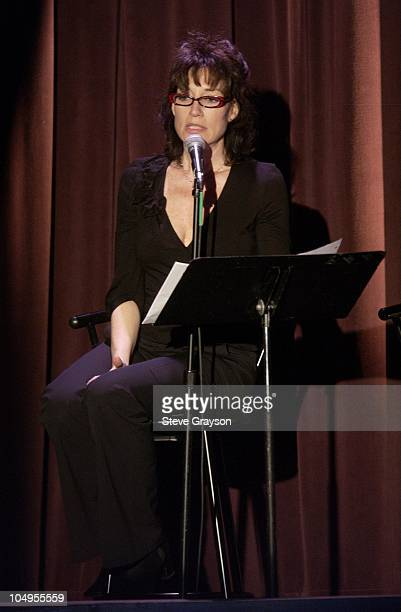 Katey Sagal during 'The Vagina Monologues' Featuring Special Guest Star Katey Sagal at The Regent Theater in Los Angeles California United States