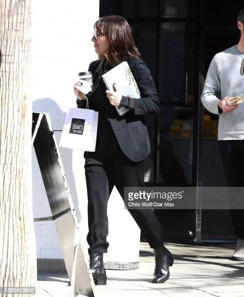Katey Sagal is seen on February 12 2020 in Los Angeles California