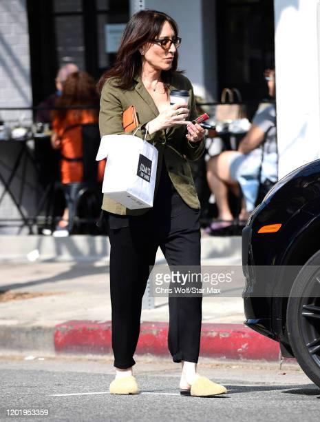 Katey Sagal is seen on February 19 2020 in Los Angeles California