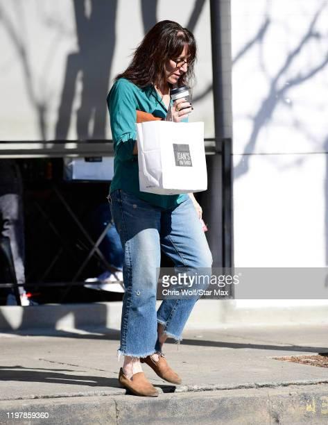 Katey Sagal is seen on January 31 2020 in Los Angeles California