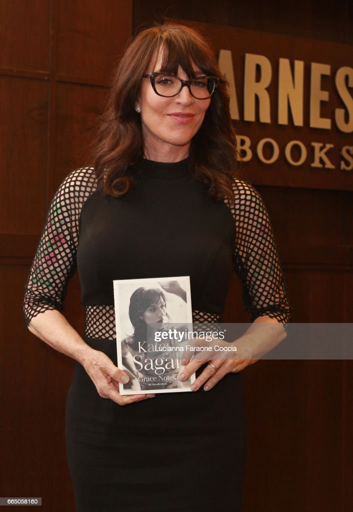 Katey Sagal poses for portrait at her book signing for 'Grace Notes: My Recollections' at Barnes & Noble at The Grove on April 5, 2017 in Los Angeles, California.