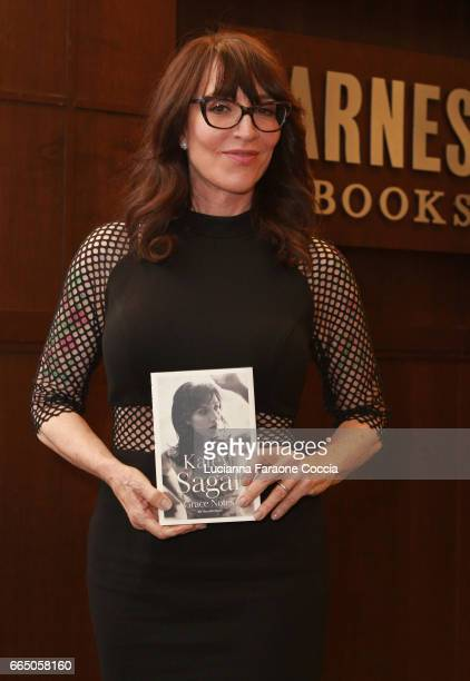 Katey Sagal poses for portrait at her book signing for 'Grace Notes My Recollections' at Barnes Noble at The Grove on April 5 2017 in Los Angeles...