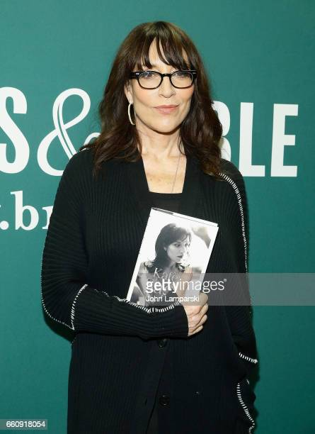 Katey Sagal signs copies of her new book Grace Notes My Recollections at Barnes Noble Union Square on March 30 2017 in New York City