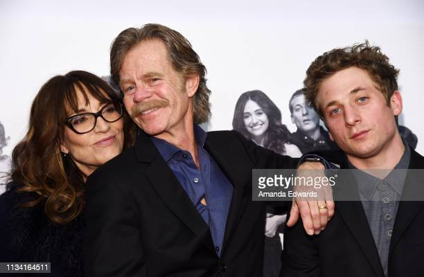 Katey Sagal William H Macy and Jeremy Allen White arrive at the EMMY For Your Consideration Event for Showtime's Shameless at the Linwood Dunn...