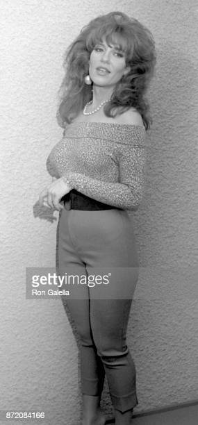 Katey Segal attends Comic Relief III on March 18 1989 at the Universal Ampitheater in Universal City California