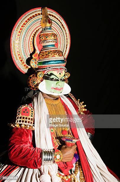 Kathakali performer