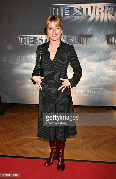 Katharina Abt At The Premiere Of The abbot In Rtl twoparter The Flood 'in CurioHaus Hamburg