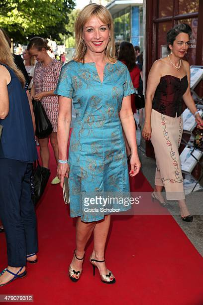 Katharina Abt attends the Bavaria Film reception during the Munich Film Festival at Kuenstlerhaus am Lenbachplatz on June 30 2015 in Munich Germany