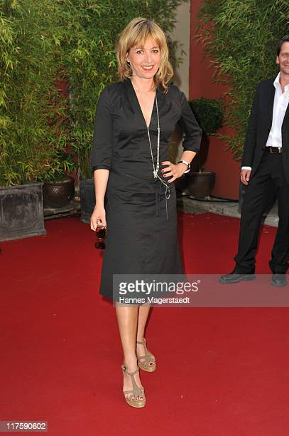 Katharina Abt attends the 'Bavaria Reception' during the Munich Film Festival at the Kuenstlerhaus on June 28 2011 in Munich Germany
