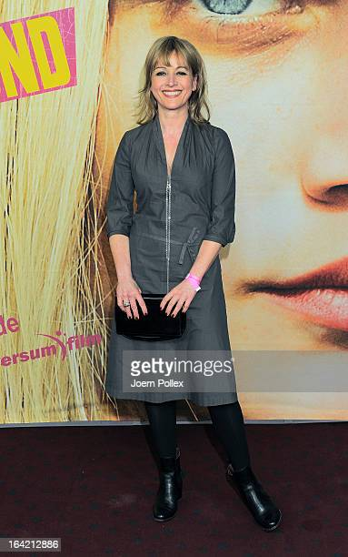 Katharina Abt attends the premiere of Heute bin ich blond at Cinemaxx Dammtor on March 20 2013 in Hamburg Germany