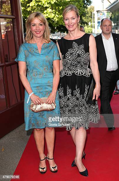 Katharina Abt Katja Weitzenboeck attend the Bavaria Film reception during the Munich Film Festival at Kuenstlerhaus am Lenbachplatz on June 30 2015...