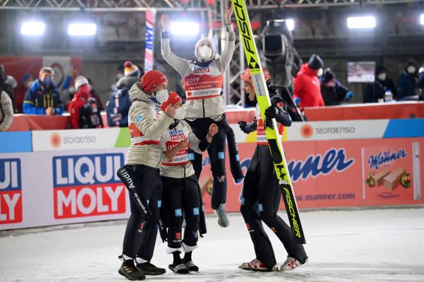 DEU: FIS Nordic World Ski Championships Oberstdorf - Ski Jumping Mixed Team HS106