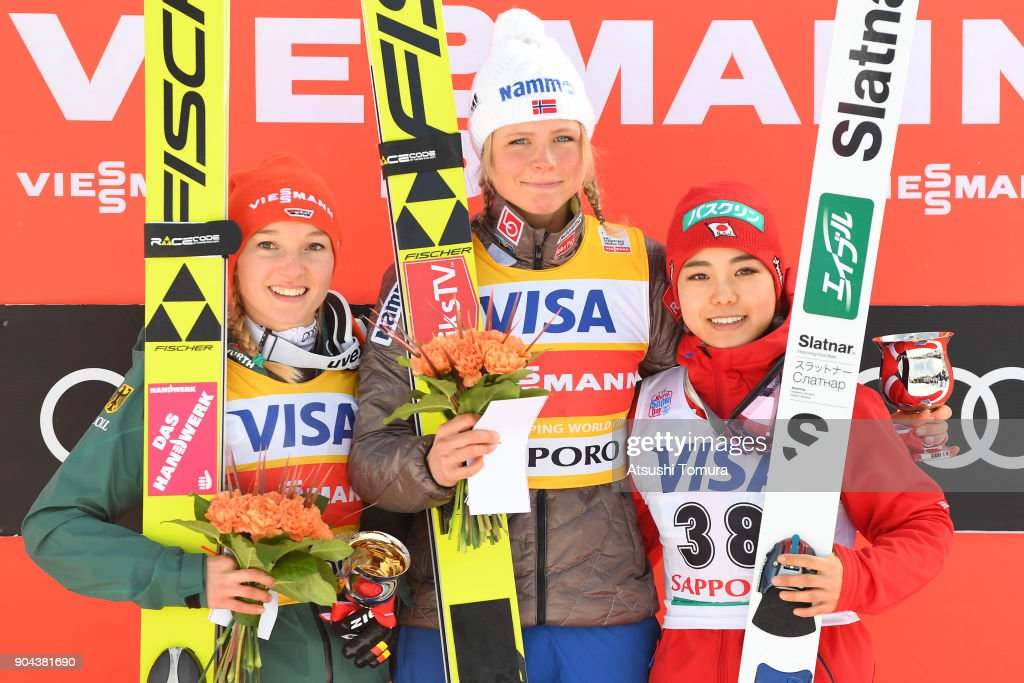 FIS Ski Jumping Women's World Cup Sapporo - Day 1 : ニュース写真