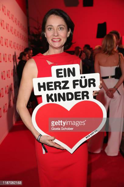 Katharina Barley during the Ein Herz Fuer Kinder Gala at Studio Berlin Adlershof on December 7, 2019 in Berlin, Germany.