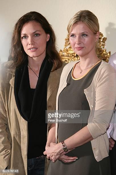 Katharina Böhm Maja Maranow ZDFKriminalfilm Es gibt kein Morgen mehr Bonn Deutschland PNr 1515/2006 Krimi Film Schauspielerin Promi NB Foto...