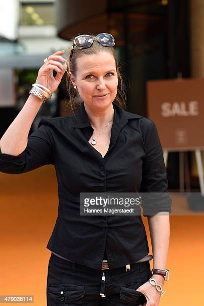 Katharina Boehm attends the ZDF reception during the Munich Film Festival at Hugo's on June 30 2015 in Munich Germany