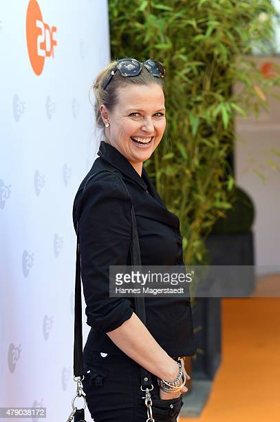 Katharina Boehm attends the ZDF reception during the Munich Film Festival at Hugo's on June 30, 2015 in Munich, Germany.