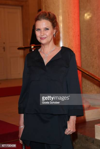 Katharina Boehm during the ROMY award at Hofburg Vienna on April 22, 2017 in Vienna, Austria.