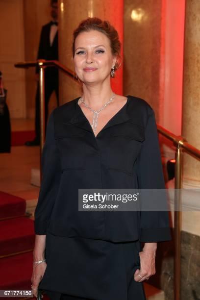 Katharina Boehm during the ROMY award at Hofburg Vienna on April 22 2017 in Vienna Austria