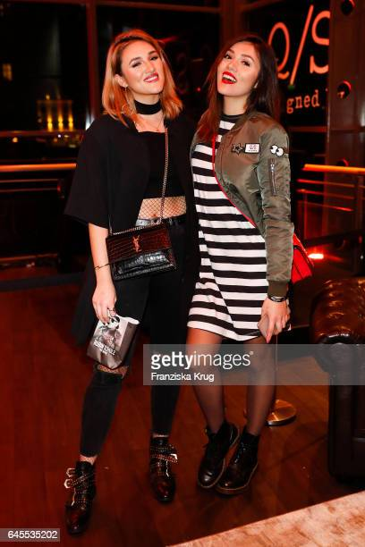 Katharina Damm and AnnaMaria Damm attend the 'Robin Schulz The Movie' world premiere at Cinemaxx on February 24 2017 in Hamburg Germany