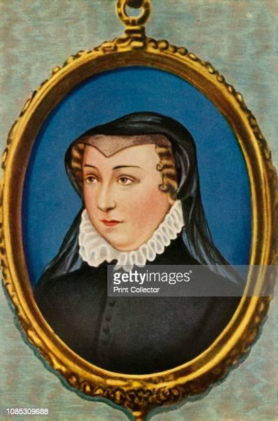 Katharina De Medici', . Portrait of Catherine de Medici , Queen of France, wife of Henry II and regent on behalf of their sons Francis II, Charles IX...