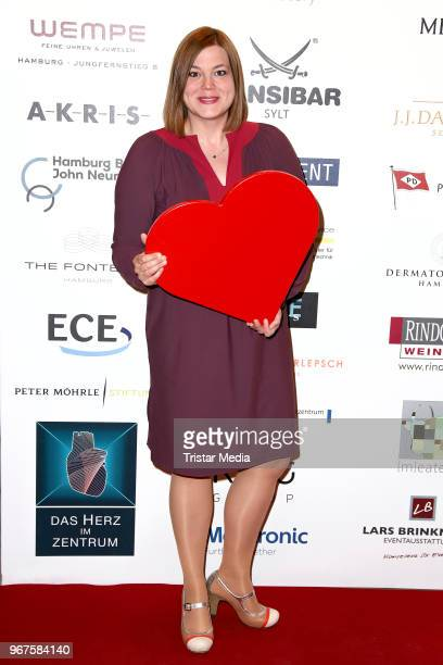 Katharina Fegebank attends the Charity Gala 'Das Herz im Zentrum' on June 4 2018 in Hamburg Germany