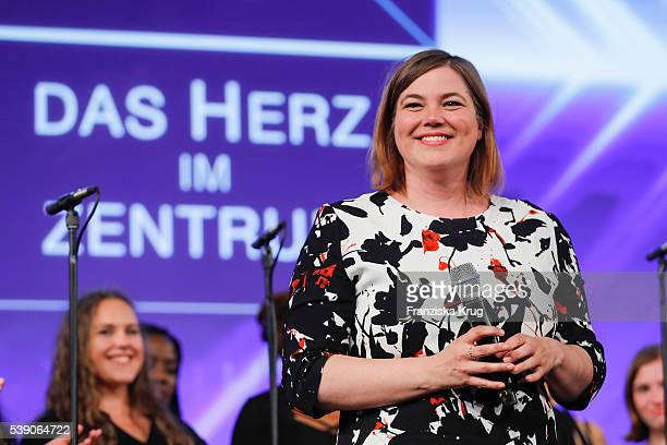 Katharina Fegebank attends the 'Das Herz im Zentrum' Charity Gala on June 9 2016 in Hamburg Germany