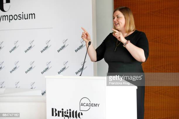 Katharina Fegebank during the BRIGITTE Job Symposium on May 18 2017 in Hamburg Germany