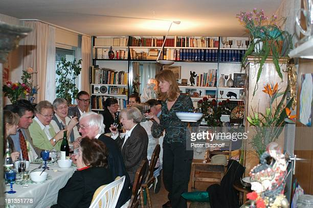 Katharina Freitag StiefBruder Oliver Tobias dessen Ehefrau Arabella Maria Becker Gäste und Familie FamilienFeier zum 90 Geburtstag von R o b e r t F...