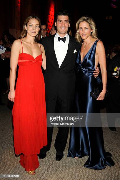 Katharina Harf Alejandro Santo Domingo and Karen Larrain attend The 2nd Annual DKMS Linked Against Leukemia Gala at Capitale on May 7 2008 in New...