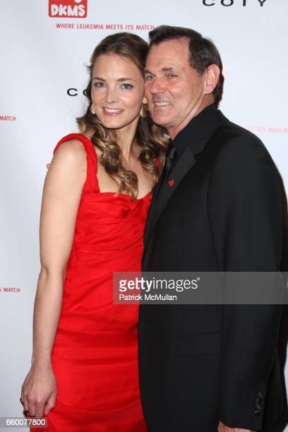 Katharina Harf and Bernd Beetz attend DKMS' 3rd Annual StarStudded Gala at Cipriani 42nd St on May 7 2009 in New York