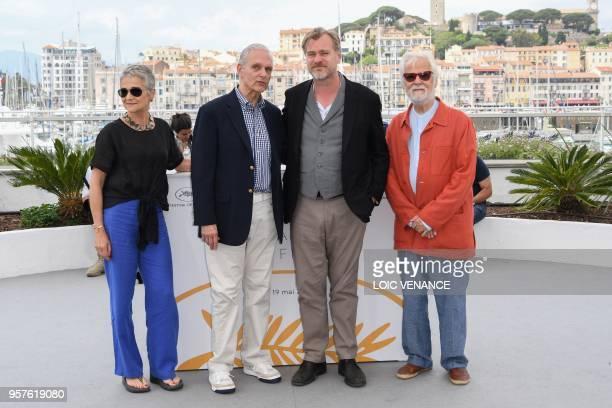 Katharina Kubrick, daughter of British director Stanley Kubrick, US actor Keir Dullea, British director Christopher Nolan and German-US producer Jan...