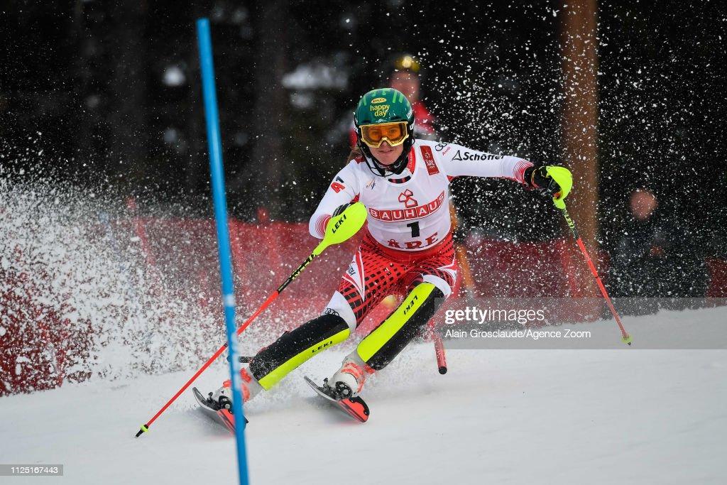 SWE: FIS World Ski Championships - Women's Slalom