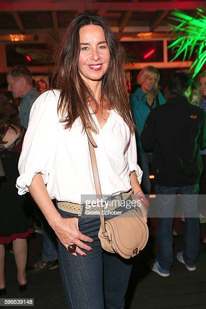 Katharina MuellerElmau during the after party of the premiere for the film 'Maennertag' at Mathaeser Filmpalast on September 5 2016 in Munich Germany