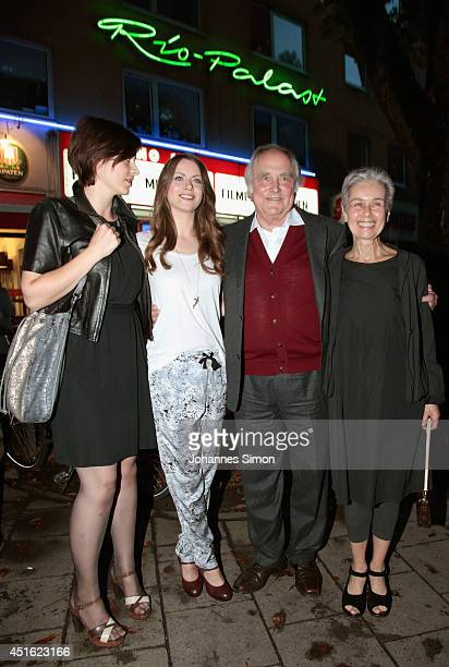 Katharina Nesytowa Alice Dwyer Michael Verhoeven and Laura Waco attend the 'Let's Go' premiere as part of Filmfest Muenchen 2014 at Rio Filmpalast on...