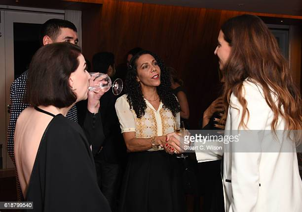 Katharina Ottman Robert Diament Michele Francis and Racil Chalhoub attend the Farfetch Dinner to Celebrate Maxwell's King Queen of Hearts World Tour...
