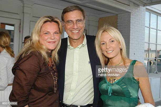 Katharina OttoBernstein Jimmy Finkelstein and Pamela Gross attend The Screening of ABSOLUTE WILSON a Documentary Film by Katharina OttoBernstein at...