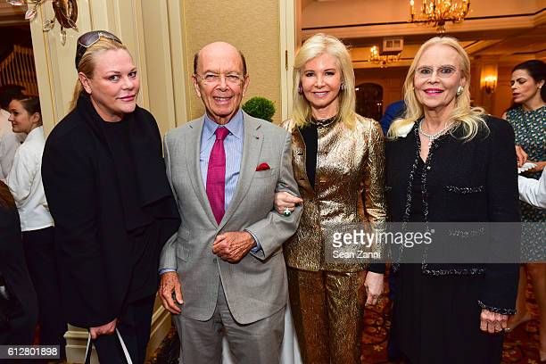 Katharina OttoBernstein Wilbur Ross Hilary Ross and Cornelia Sharpe Bregman attend Jay McInerney Book Party for Bright Precious Days Hosted by Audrey...