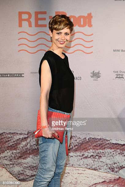 Katharina Schlothauer attends the Bavaria Film Party REBOOT on February 14 2016 in Berlin Germany