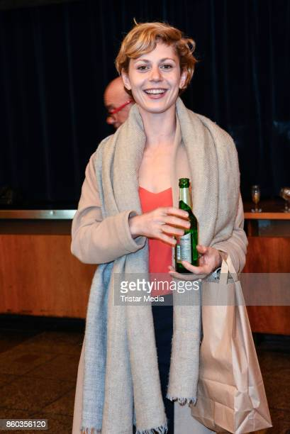 Katharina Schlothauer attends the Premiere 'Vorwaerts immer' at Kino International on October 11 2017 in Berlin Germany