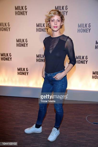 Katharina Schlothauer during the photo call for the television series 'Milk Honey' on October 1 2018 in Hamburg Germany