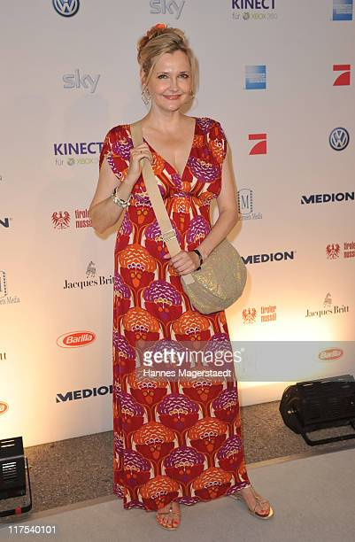 Katharina Schubert attend the Movie Meets Media party at P1 on June 27 2011 in Munich Germany